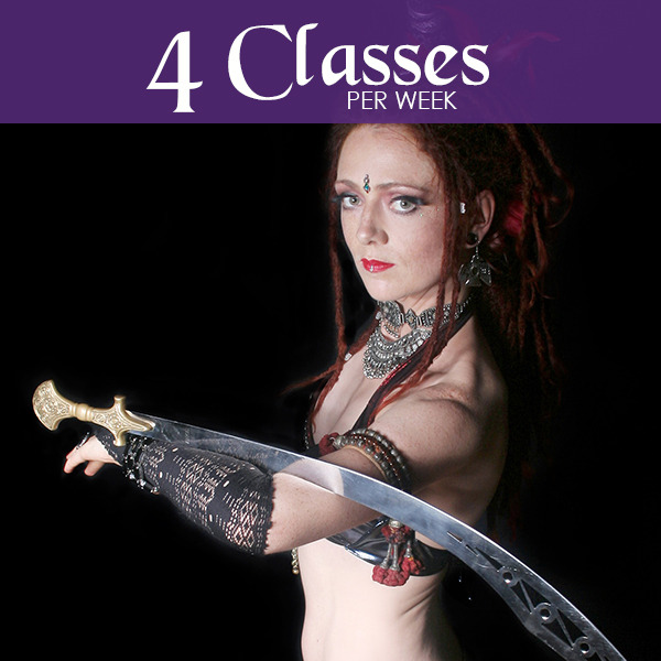 4 Classes Per Week